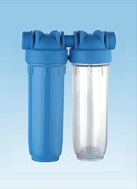 Boîtier de filtre à eau Twin-Stage (FH-054)
