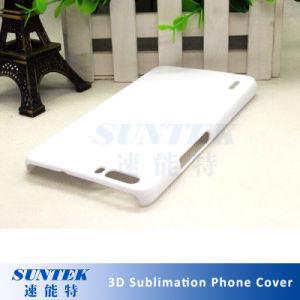 Cache en plastique de la sublimation couvercle de téléphone cellulaire pour l'étui pour iPhone