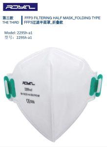 Protección FFP3 Mascarilla de la palanca de diseño 3D.