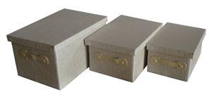 Новое постельное белье из полиэфирного волокна ткани ящик для хранения (YTLJ-1470)