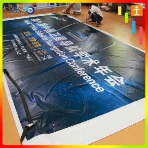 展覧会の表示PVC屈曲の背景幕の旗