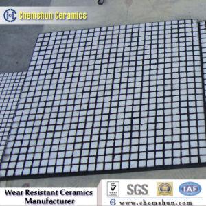 Panneau en caoutchouc Céramique composite pour absorber à impact élevé