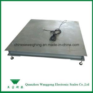 1t-10t Balanças de piso Industrial electrónica das plantas
