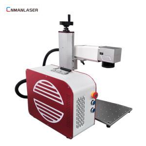 De Laser die van de Apparatuur van de vezel de Groothandelsprijs van de Machine voor Roestvrij staal merkt