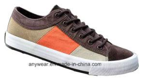 La comodidad del calzado casual para hombres zapatos zapatillas de lona (490)