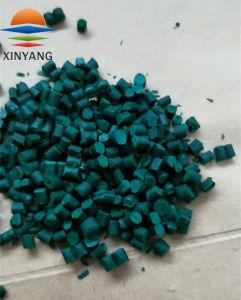Зеленый гранул пластика для литьевого формования