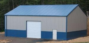 Haute qualité Structure légère en acier préfabriqués entrepôt (KXD-119)