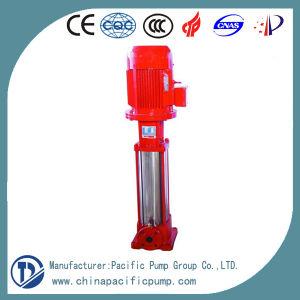 Pompa antincendio a più stadi verticale materiale della puleggia tenditrice di Xbd-Cdl Ss304