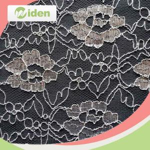 최신 판매 아름다운 순수한 레이스 거미는 백색 레이스 직물을 모방한다
