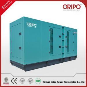 480kVA Shangchai Série Powered Abrir/gerador diesel silenciosa