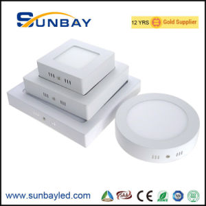 6W 7W 9W 12W 15W 18W 20W redondos cuadrados de superficie LED lámpara de techo IP44 para Downlight balcón