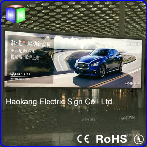Backlit LED Lightの大きいAluminum Profile Advertizing Display