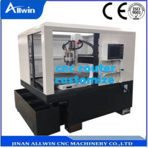 6060 molde de metal Router CNC Máquina de grabado de 600x600