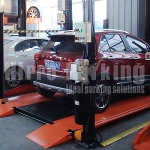 4ポスト3600kgの倍スタック駐車システム