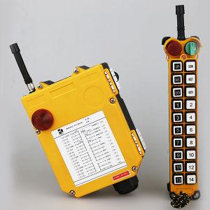 Henan Dirk Novos Produtos F21-20s Certificação Ce Transmissor e Receptor RF do Interruptor de Controle Remoto