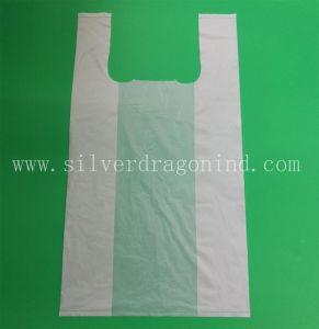 Umweltfreundlicher Beutel, Maisstärke kompostierbar, biodegradierbare Einkaufstasche