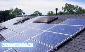 O sistema de energia residencial Solar de grade (KS-S10000W)