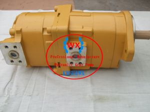 Hot~Japon605-5 OEM Komatsu HD/3. HD465-5/3 bulldozers de la roue du moteur hydraulique SA6d170 Systems : 705-52-32001 Pompe de direction pièces de rechange machines de construction