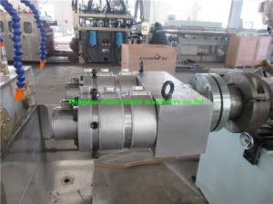 Tubo de PVC doble línea de extrusión Sjsz-51/105