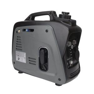 12V DC potencia portátil pequeña gasolina generador Inverter