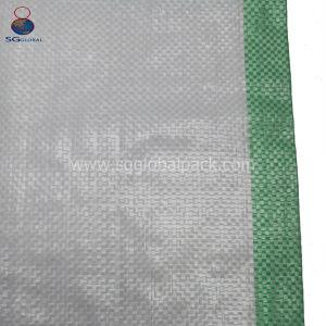 Durável 50kg PP saco de tecido para embalagem de farinha de arroz de grãos
