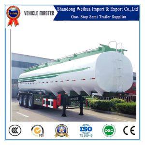중국 고품질 최신 판매 45000L 연료 유조선 반 트레일러