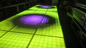 Top Seller discoteca portátil digital LED de pista de baile