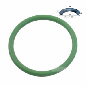 Различных красочных малых силиконового уплотнительного кольца с высоким качеством