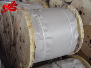 Corde de fils en acier galvanisé 6X37+SC avec un brin A2