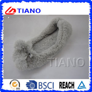 Entraves en gros bon marché de femme de l'hiver de peluche (TNK20289)