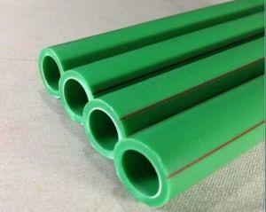 백색 폴리프로필렌 무작위 관 또는 녹색 플라스틱 수관