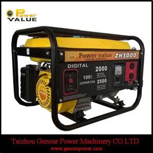 El precio barato de 2kw China Cable de cobre de la gasolina generador de tigre