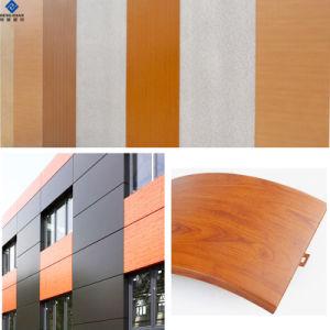 piatto di tetto di alluminio preverniciato colore bianco Nano di 0.5mm PE/PVDF