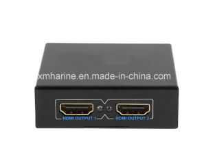 2 Saída HDMI Splitter Mini switcher HDMI