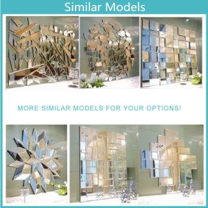 Уникальный элегантный MDF корпусной висящих Стена декоративные зеркала заднего вида