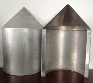Colonne irrégulière PVDF panneau de revêtement en aluminium