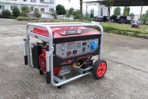 5kw-200A携帯用ガソリン販売のための価格の溶接の発電機機械