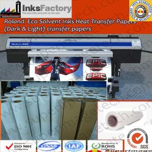 ロランドEco Solvent Ink Heat Transfer Paper DarkおよびLight