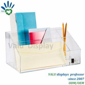 Insieme acrilico dello scrittorio dell'organizzatore acrilico della scrivania