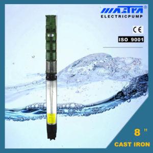 Aço inoxidável da bomba de água submersível de Ferro Fundido (3 4 6 a 8)