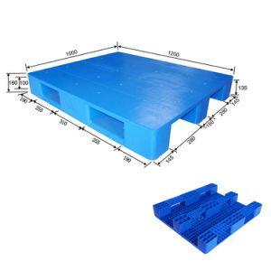 1200*800mm empilhável de Alta Qualidade de Serviço Pesado e paletes de plástico para montagem em rack
