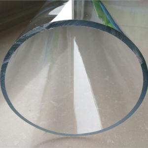 Tubo acrilico trasparente del materiale da costruzione per i grandi acquari della costruzione