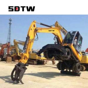 Brazo largo de la máquina excavadora excavadora de rueda 8 de 6 Ton Ton Ton Ton 10 12 15 Ton.