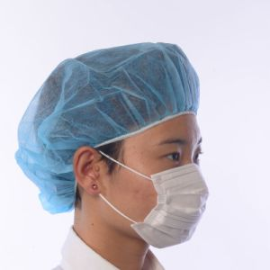 08ffb2543f745 Elástica Tejida desechables tapas quirúrgica la tapa de la mafia médica  Doctor enfermera Bouffant sombreros gorras