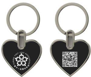 Kundenspezifische Laser-Firmenzeichen-Gepäck-Leerzeichen-Metallschlüsselmarken