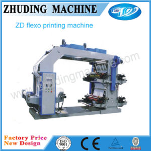 4 Cores Letterpress máquina de impressão flexográfica