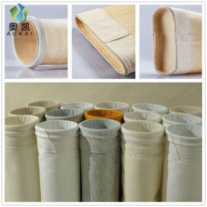 La silvicultura calderas industriales Bolsas de filtro de polvo de poliéster, acrílico de aramida PTFE