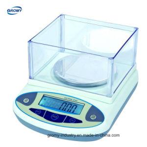 Sensible a la Electrónica Digital de 1mg de balanza de precisión de 0,01 g 0,1G