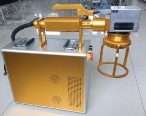marcadora láser de fibra por Router CNC