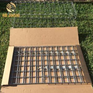 金属線の溶接されたGabionの熱い浸された電流を通された擁壁